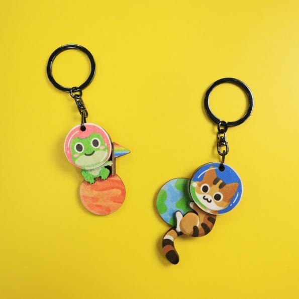 木木鑰匙圈